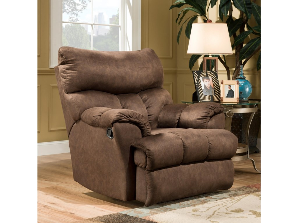Southern Motion Re-Fueler Power Plus Layflat Recliner