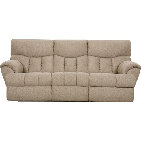 Powerized Double Reclining Sofa