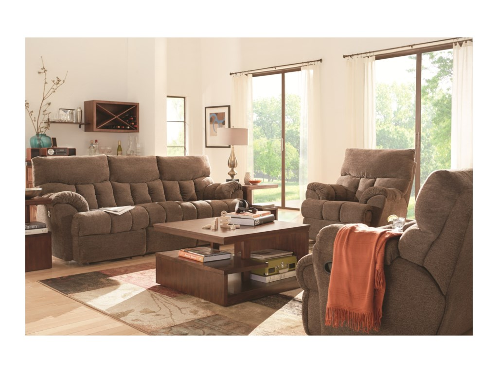 Southern Motion Re-Fueler Power Plus Double Reclining Sofa
