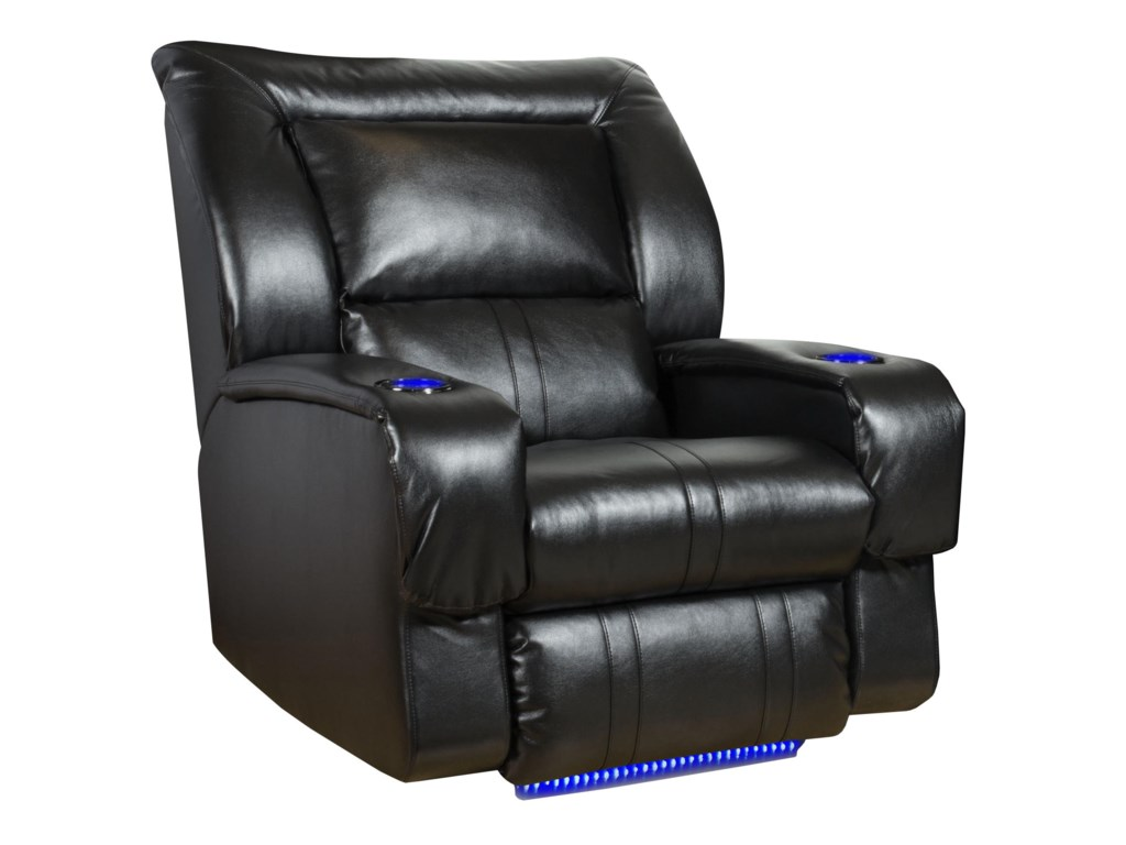 Southern Motion Roxie 4148p Lay Flat Recliner With Led
