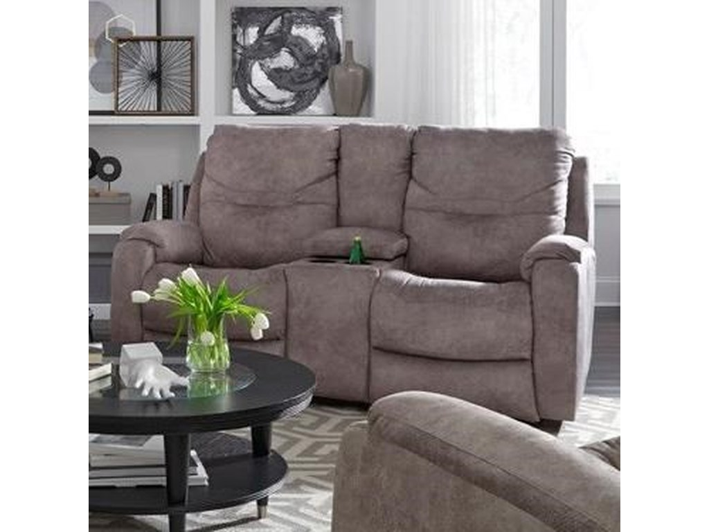 Southern Motion Royal FlushDouble Reclining Console Sofa