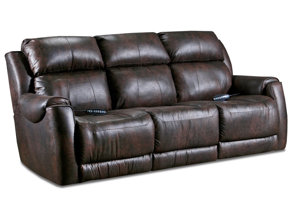 Southern Motion Safe BetPower Plus Double Reclining Sofa