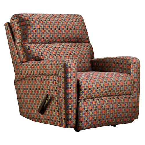 Belfort Motion Parker Casual and Contemporary Family Room Rocker Recliner