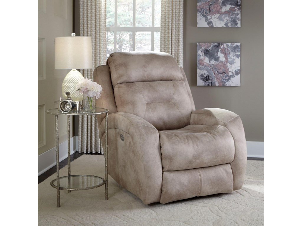 Southern Motion ShowcasePower Headrest Rocker Recliner
