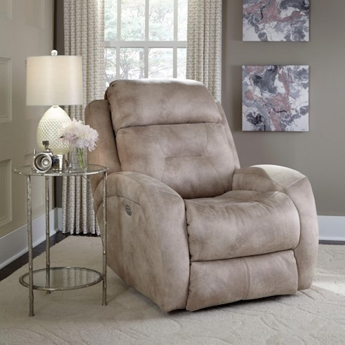 Southern Living Furniture Collection: Southern Motion Showcase Power Headrest Wall Hugger
