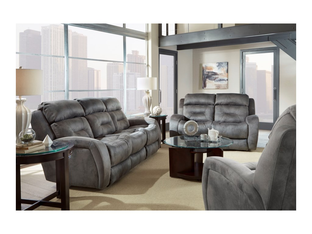 Southern Motion NeptunePower Headrest Reclining Sofa