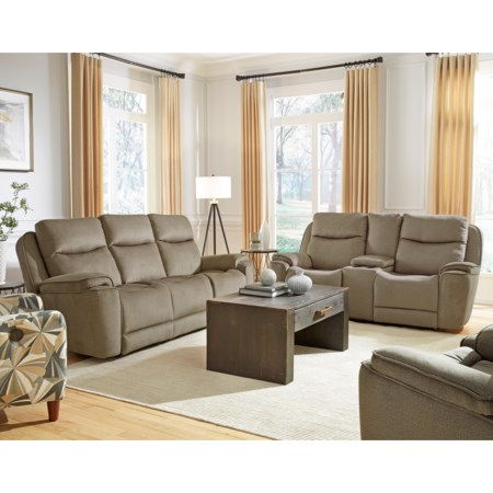 Power Reclining Living Room Group