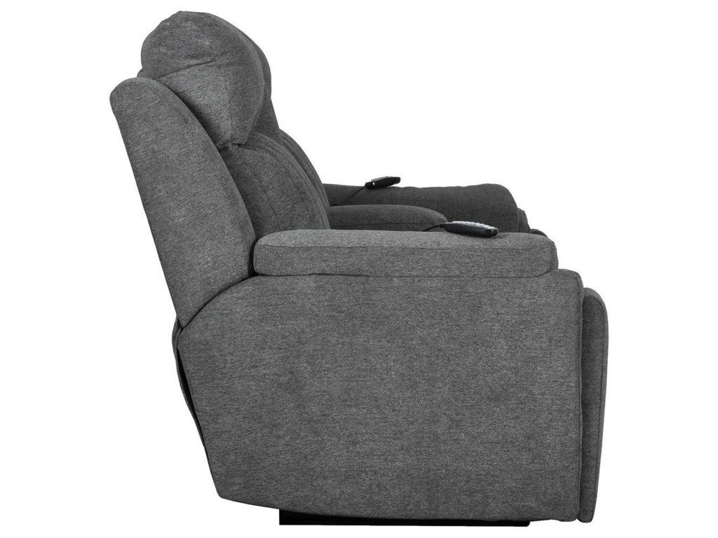 Southern Motion Silver ScreenPower Headrest Loveseat with SoCozi