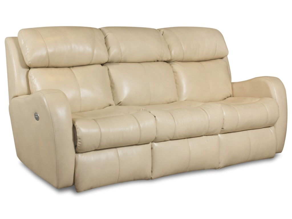 Southern Motion SiriDouble Reclining Sofa w/ Power Headrest