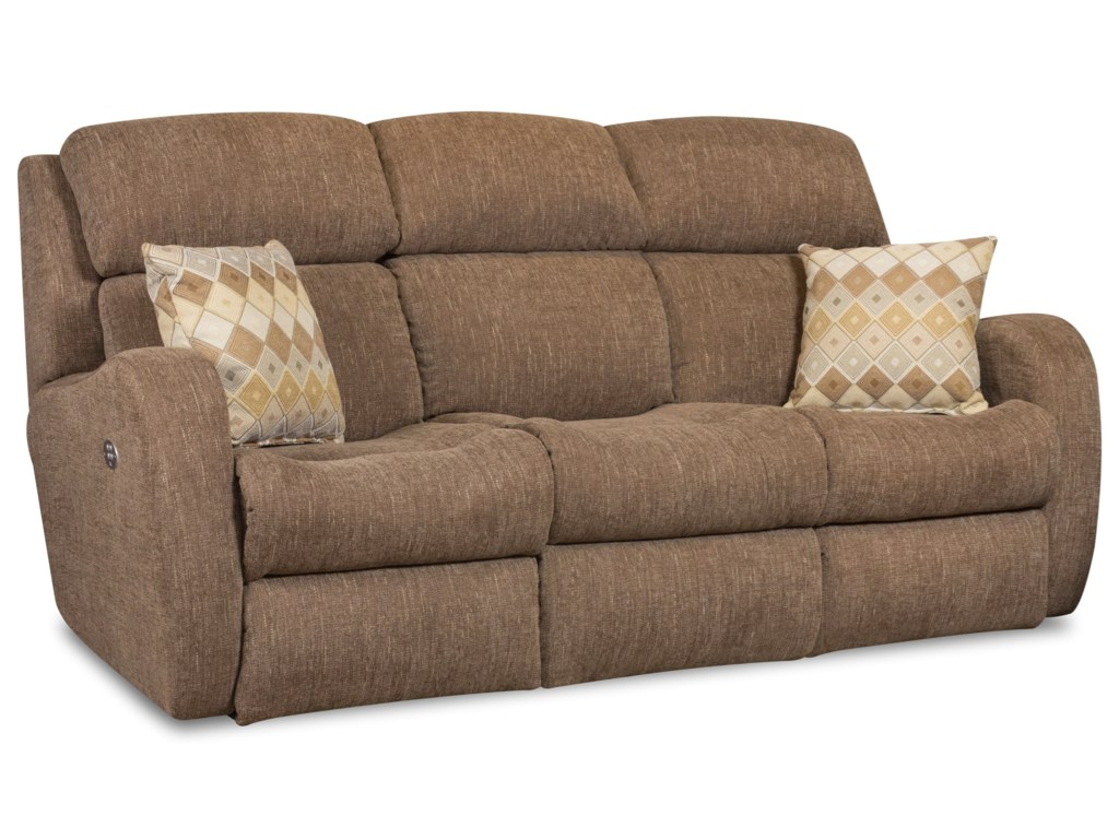 Southern Motion SiriDouble Reclining Sofa with Pillows