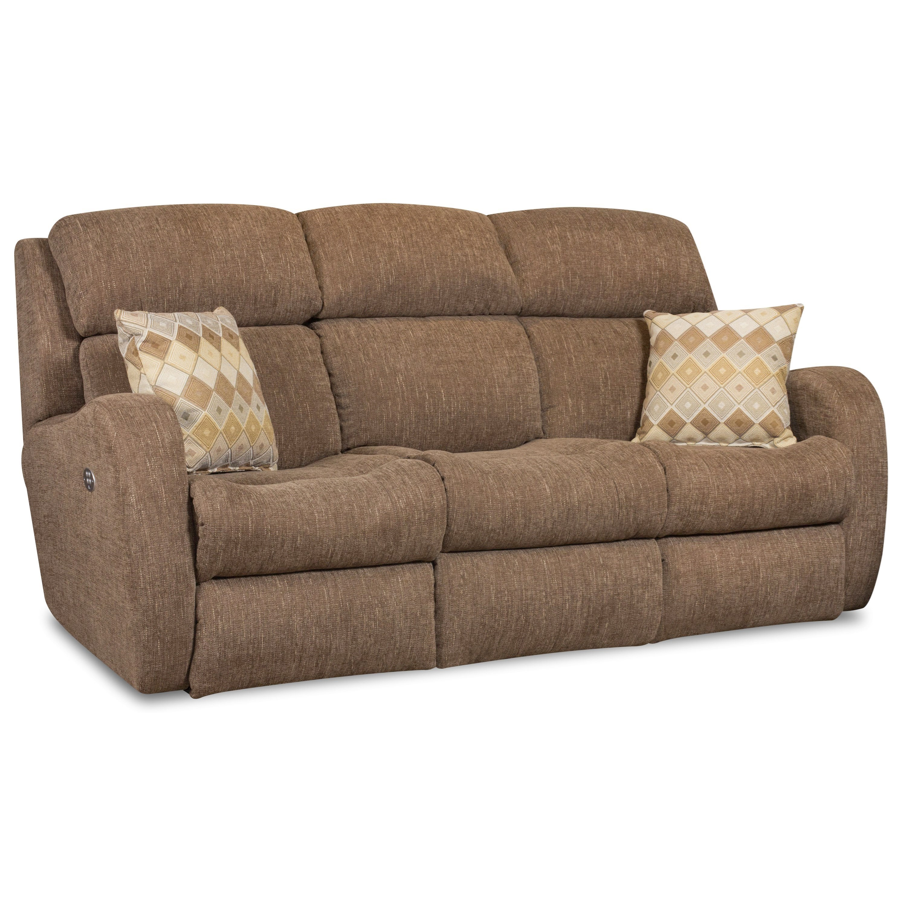 Southern Motion SiriReclining Sofa W/ Power Headrests U0026 Pillows