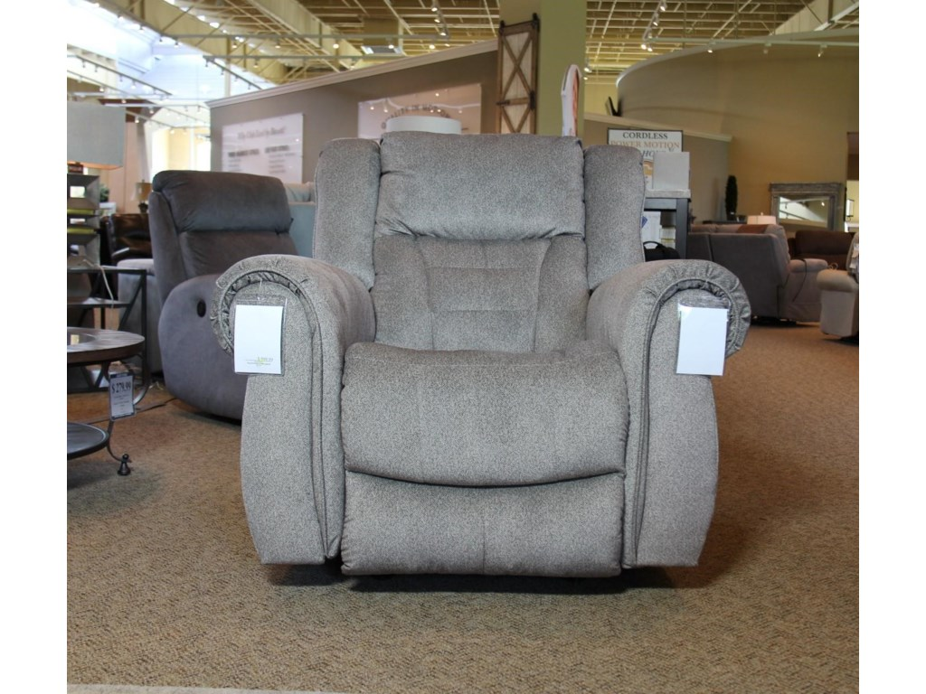 Southern Motion TitanTweed Graphite Rocker Recliner