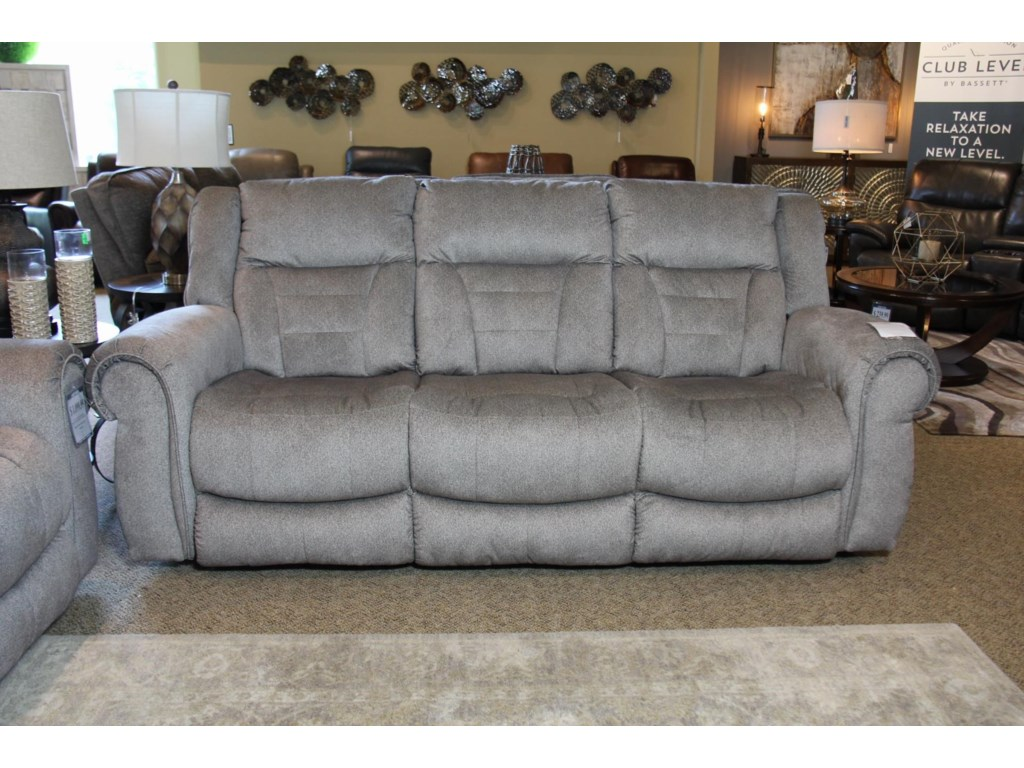 Southern Motion TitanPower Reclining Sofa with Power Headrests