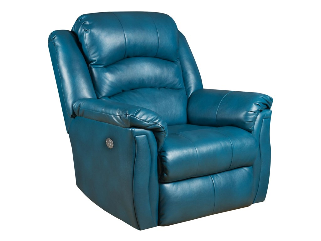 Southern Motion ReclinersMax Rocker Recliner with Power Headrest