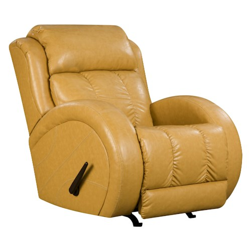Belfort Motion Recliners Power Lay-Flat Recliner with Sport Style