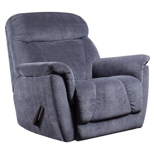 Belfort Motion Recliners Flair Power Lay-Flat Recliner with Casual Contemporary Style