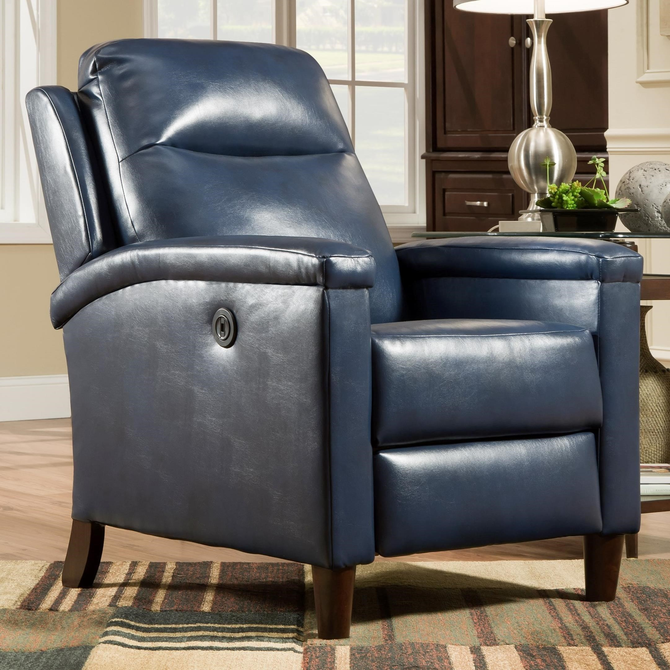 southern motion recliners glitz high leg power recliner