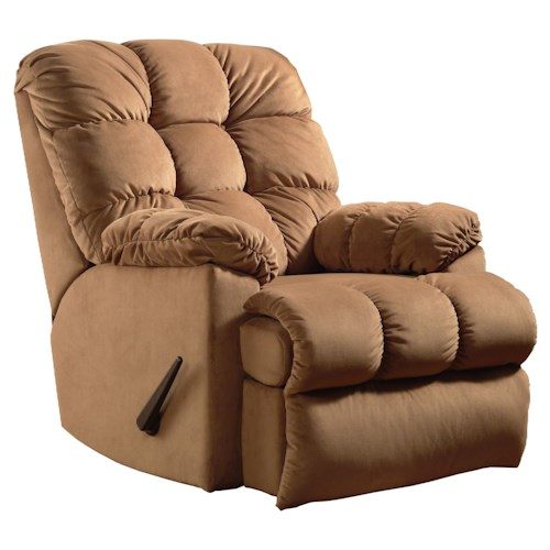 Belfort Motion Recliners Bristol Wall Hugger Recliner with Tufted Seat Back