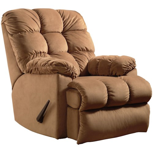 Southern Motion Recliners Bristol Wall Hugger Recliner with Tufted Seat Back