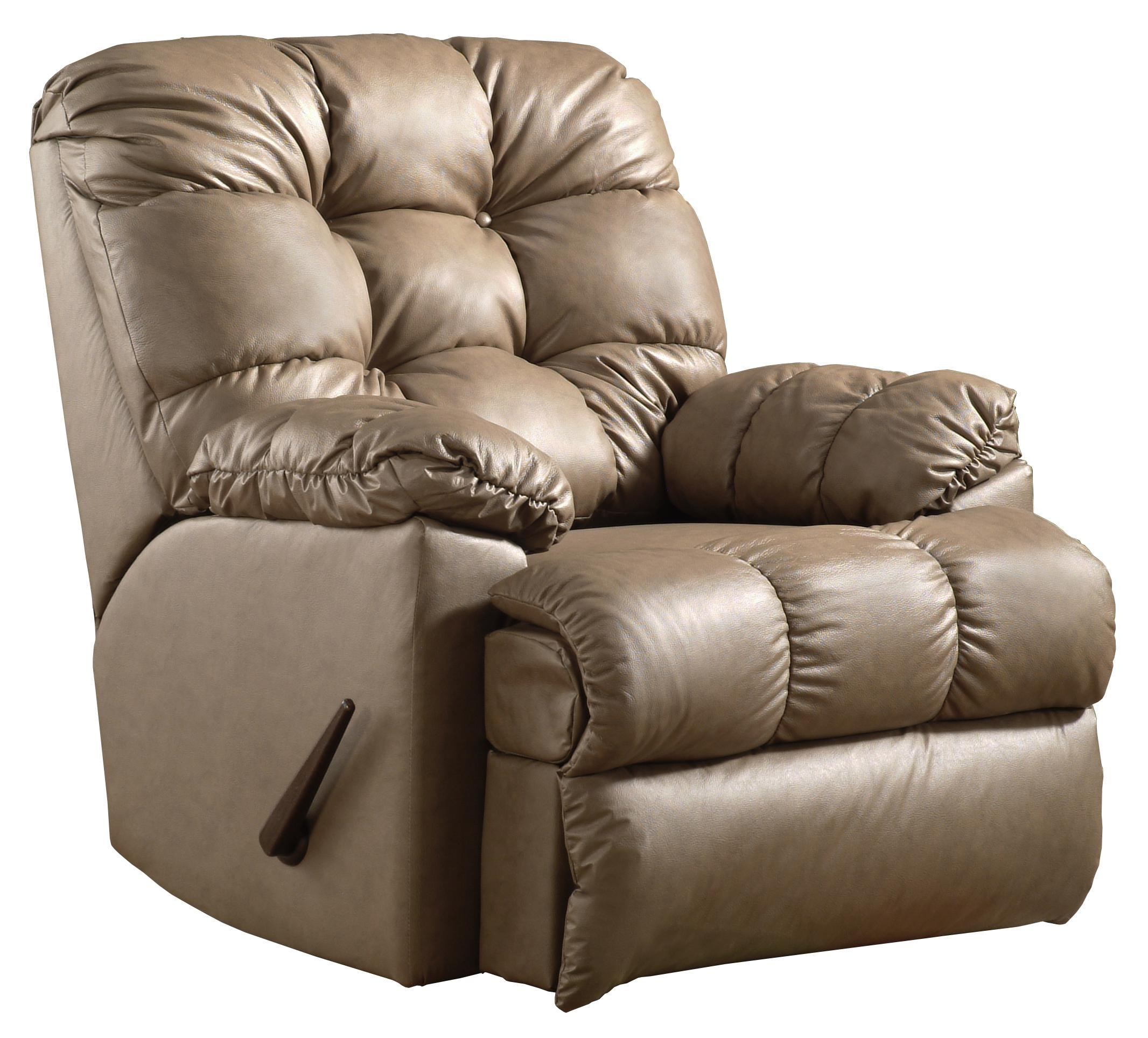 recliner shown may not represent exact features indicated - Wall Hugger Recliner