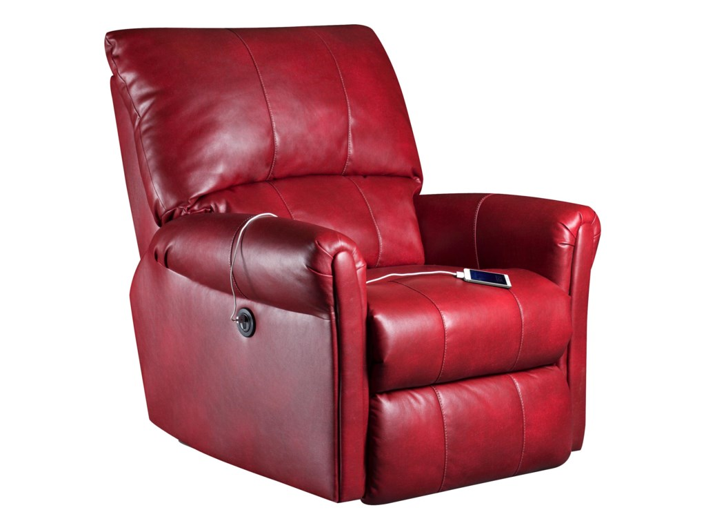 NOTE: This Recliner Does Not Include the Power Recline and USB Port That are Pictured. Contact Your Retailer for Upgrade Information.