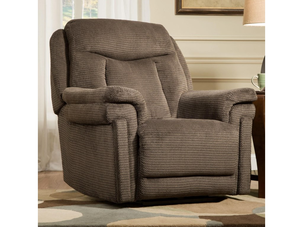 Southern Motion ReclinersMasterpiece Power Headrest LayFlat Recliner