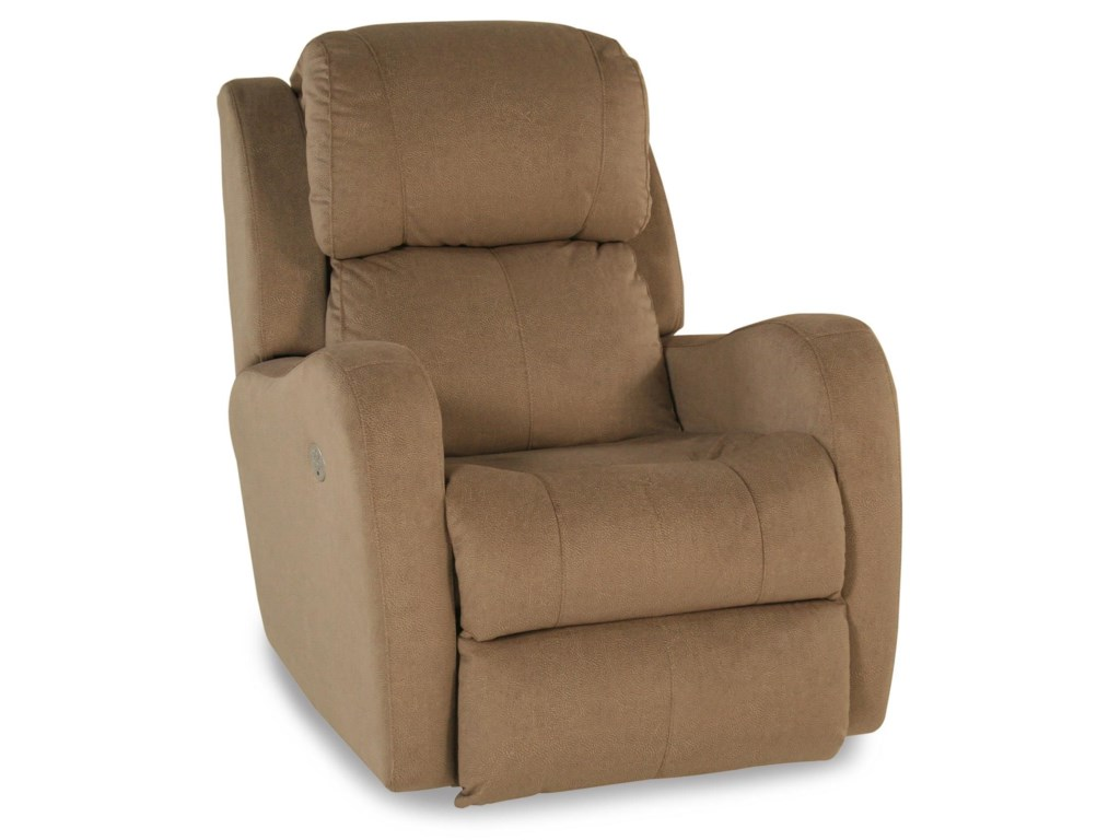 Design to Recline ReclinersRocker Recliner w/ Power Headrest