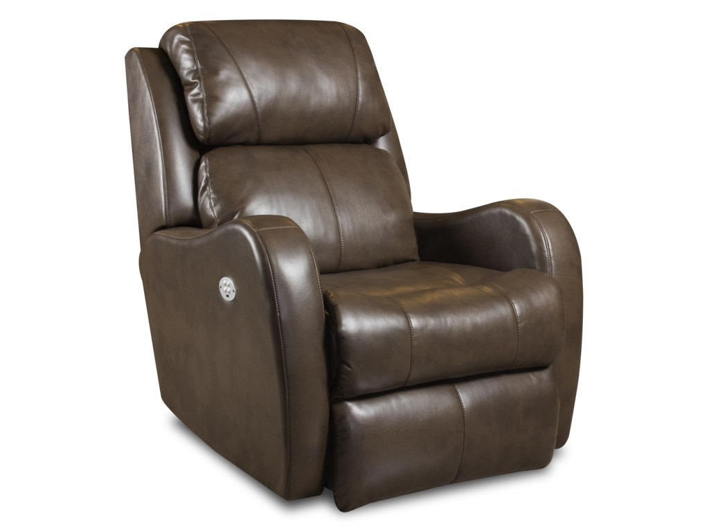 Southern Motion Recliners Siri Lay Flat Recliner With Headrest