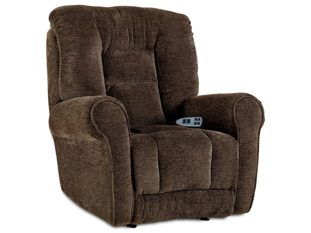 Southern Motion Recliners Grand Lay Flat Lift Recliner With Headrest