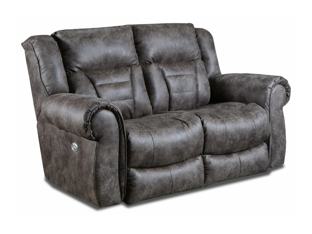 Southern Motion TitanDouble Reclining Power Loveseat