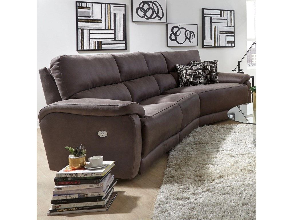 Southern Motion Top Secret Three And 12 Seat Sectional Sofa Rooms