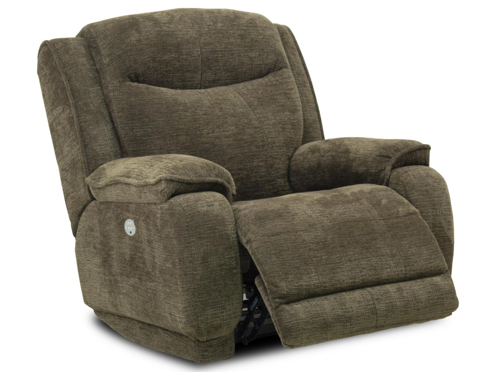 Southern Motion VelocityRocker Recliner with Power Headrest