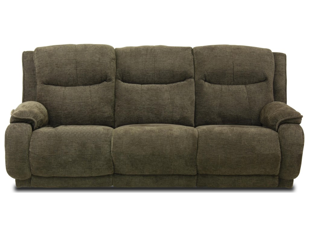 Southern Motion VelocityReclining Sofa with Power Headrest