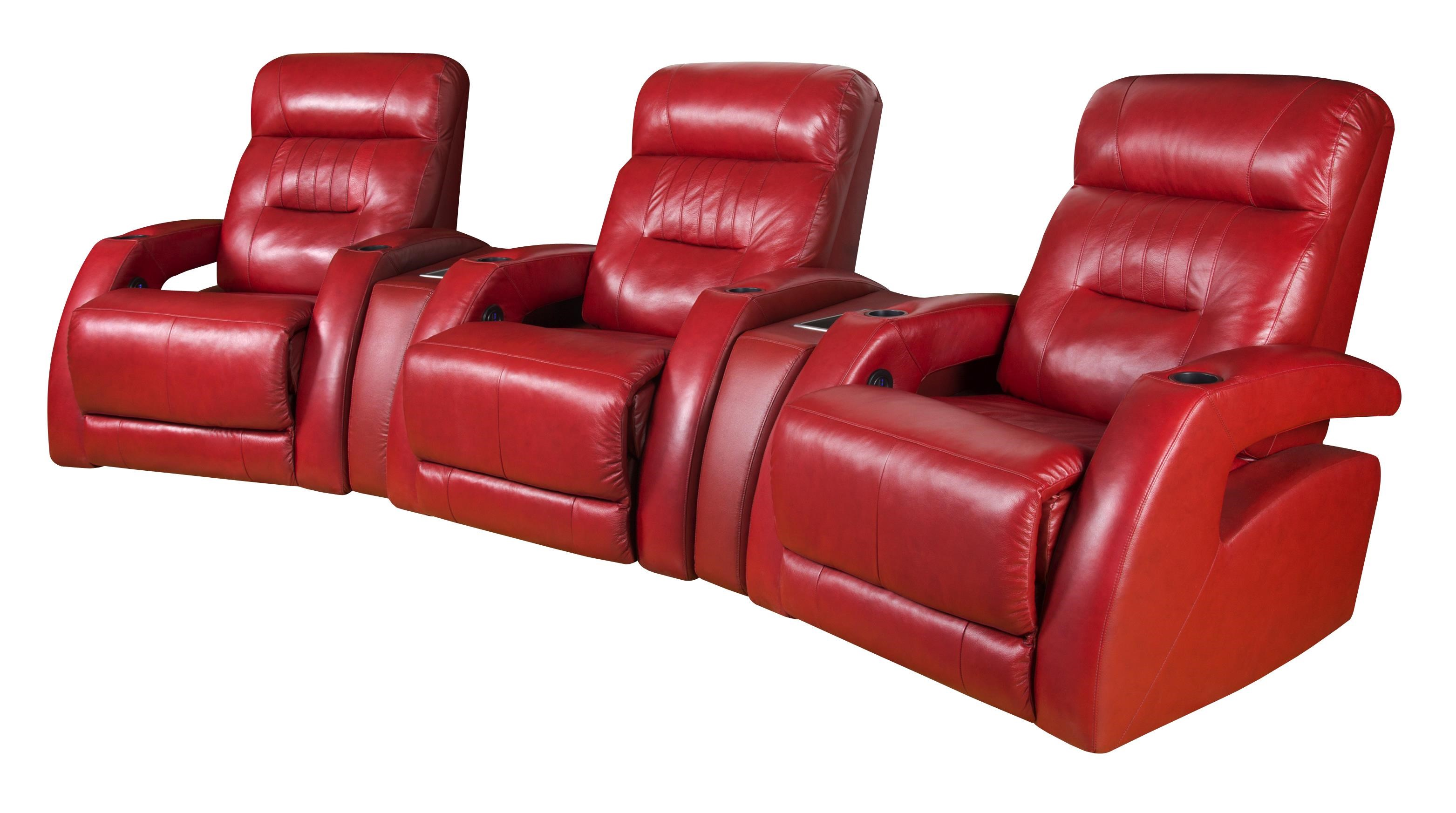 Charmant Southern Motion VivaTheater Seating Sectional ...