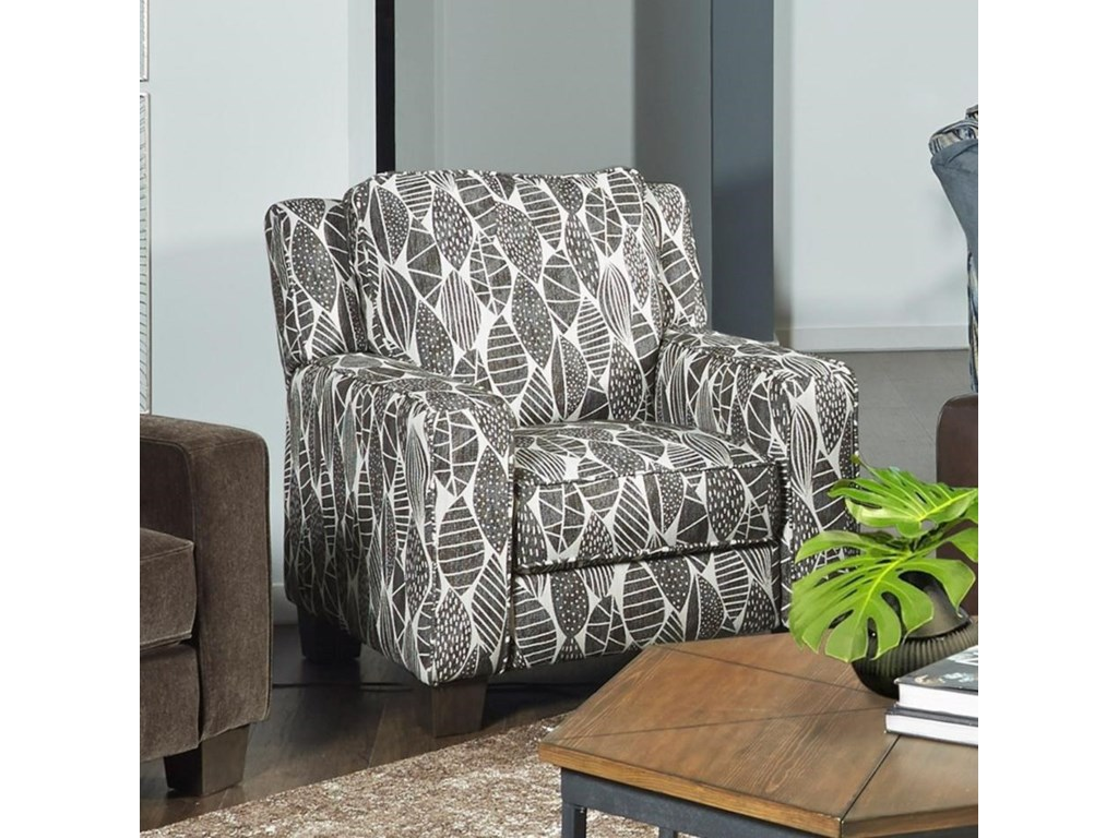 Design To Recline West End Transitional Power Plus High Leg