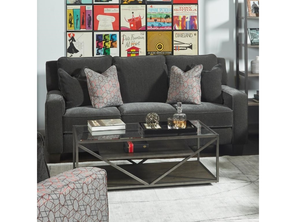 Southern Motion West EndWireless Power Sofa with Pillows