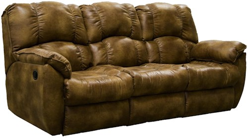 Southern Motion Weston Casual Reclining Sofa with Pillow Arms