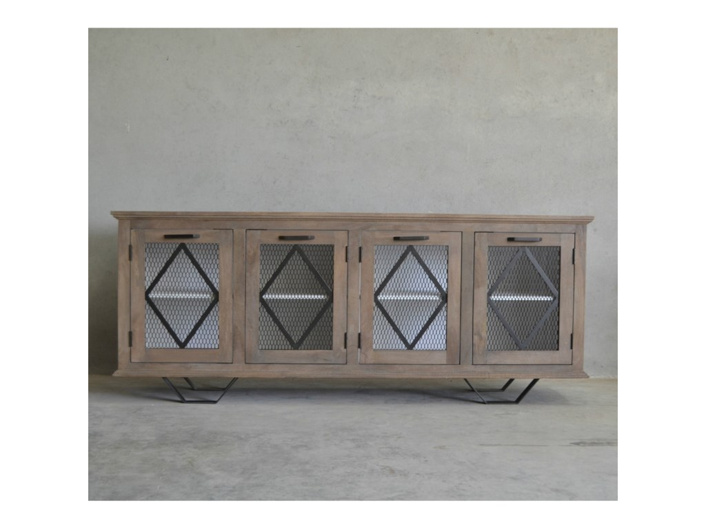 Southern Sky Home Pineapple ParkHunter Sideboard