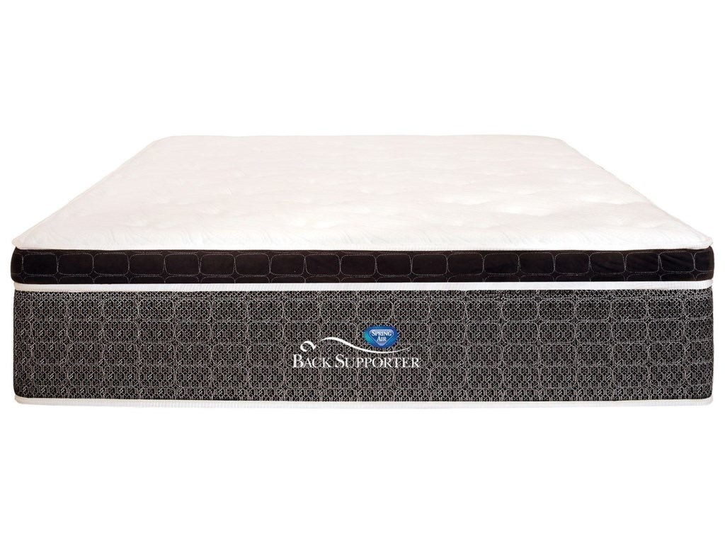 Spring Air 90th Anniversary Euro TopCal King Euro Top Pocketed Coil Mattress