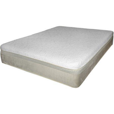 Queen Coil on Coil Hybrid Mattress