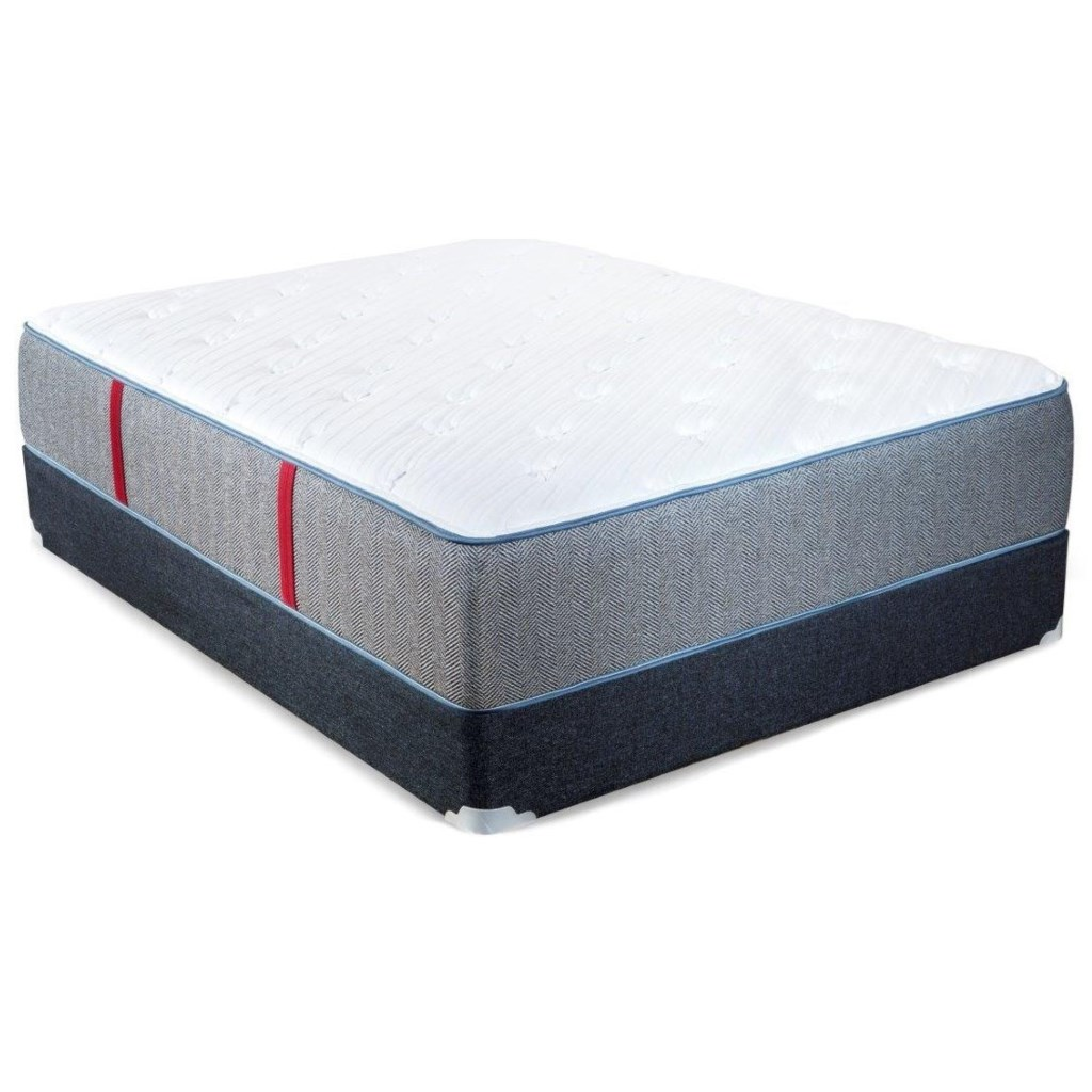 Spring Air Hope P Twin Extra Long Plush Pocketed Coil Mattress And