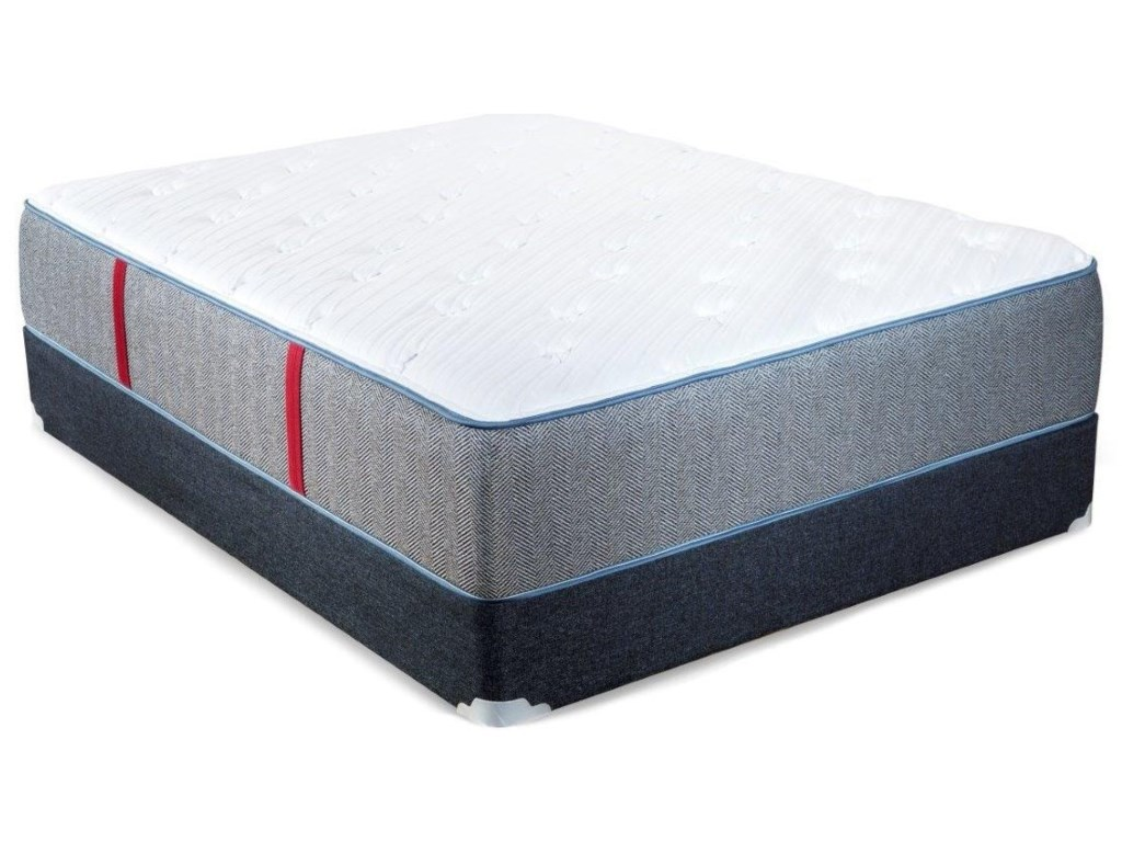 Spring Air Hope PKing Pocketed Coil Mattress Set