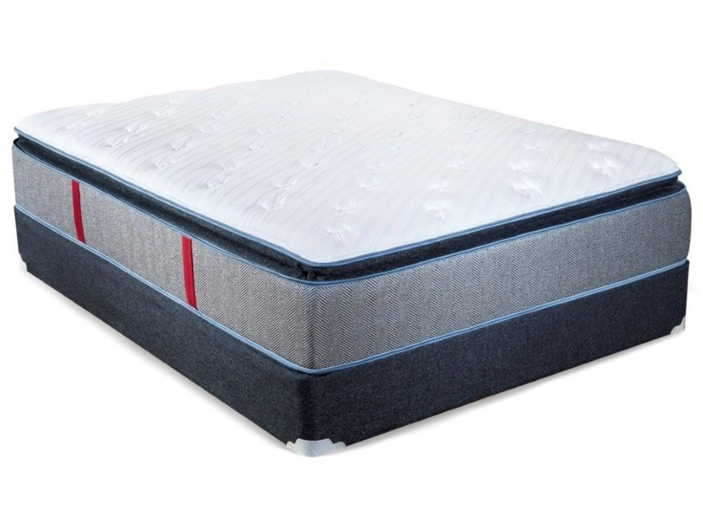 Spring Air Hope PTQueen Pocketed Coil Mattress Set