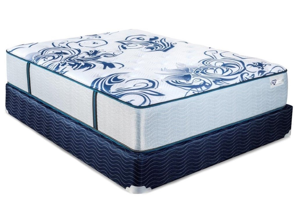 Spring Air Hyacinth CFTwin XL Pocketed Coil Mattress Set