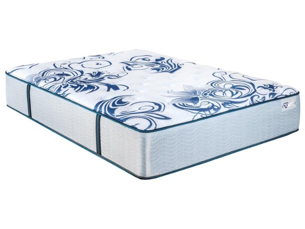 Spring Air Hyacinth CFFull Pocketed Coil Mattress Set