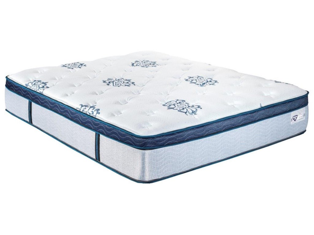 Spring Air Marigold ETFull Pocketed Coil Mattress Set