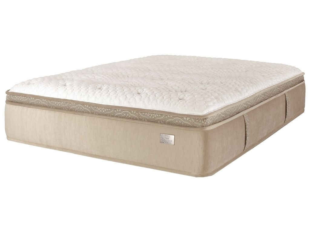 Spring Air Revere ETKing Pocketed Coil Mattress Set