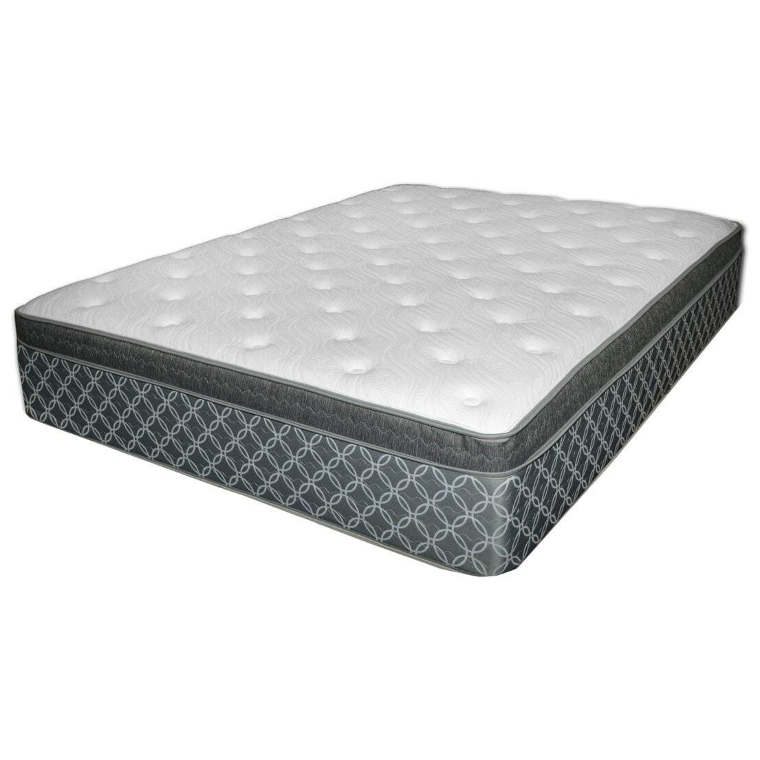 king pillow top mattress. Somerset Pillow Top King Plush Mattress By Spring Air