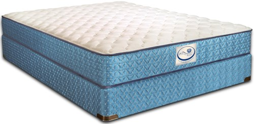 Spring Air Special Edition Abigail King Firm Mattress and 9