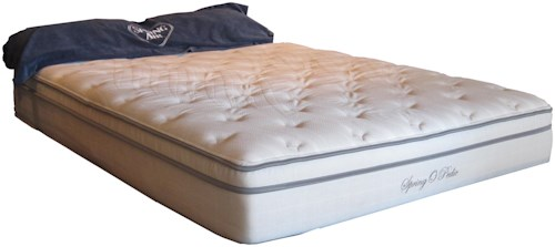 Spring Air Spring-O-Pedic Sophia Full Plush Mattress and Foundation
